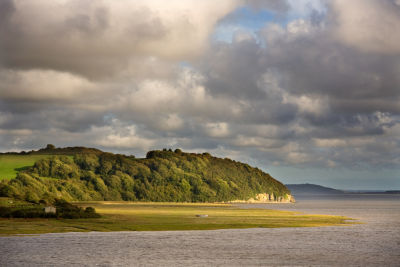 Laugharne towards Whaley Point