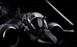 Folded-Wing Buccaneer