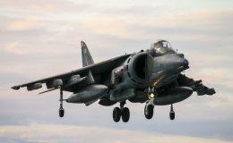 RAF Harrier ZD346