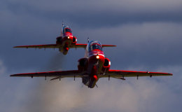 Synchro pair up close