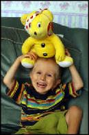 pudsey bear helping children in need