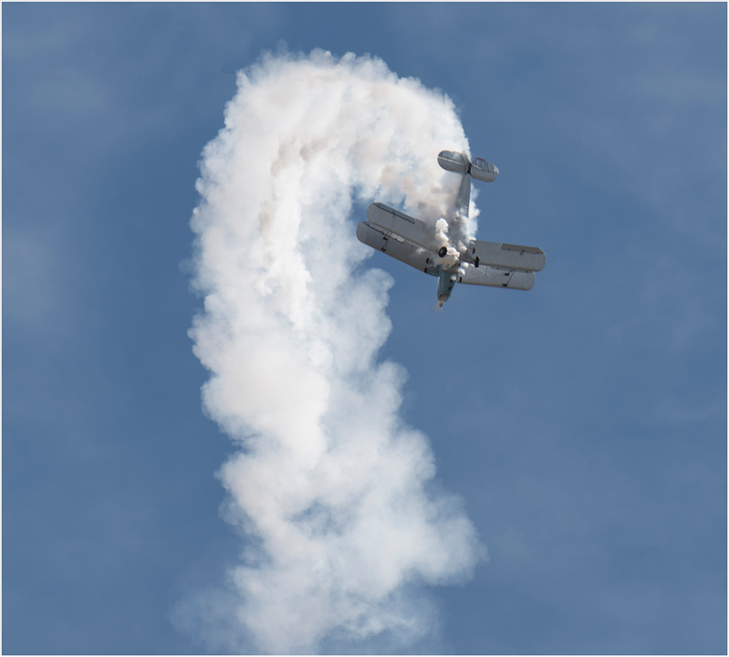 Biplane after stall 2