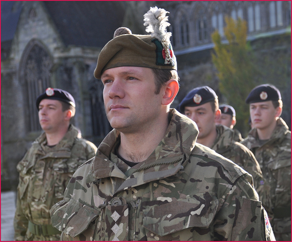 Armistice Parade in Paisley