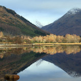 Autumn Reflections Loch Etive
