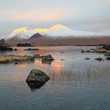 Awakening Sun on Blackmount Glencoe