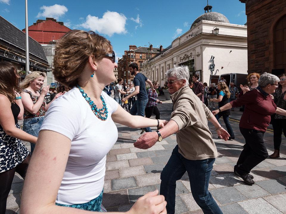 Dancing in Vinicombe Street