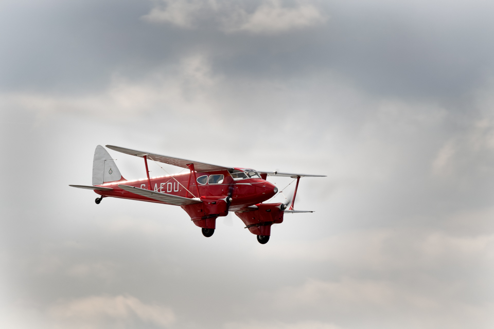 DeHavilland DH90A Dragonfly - Scottish Airshow