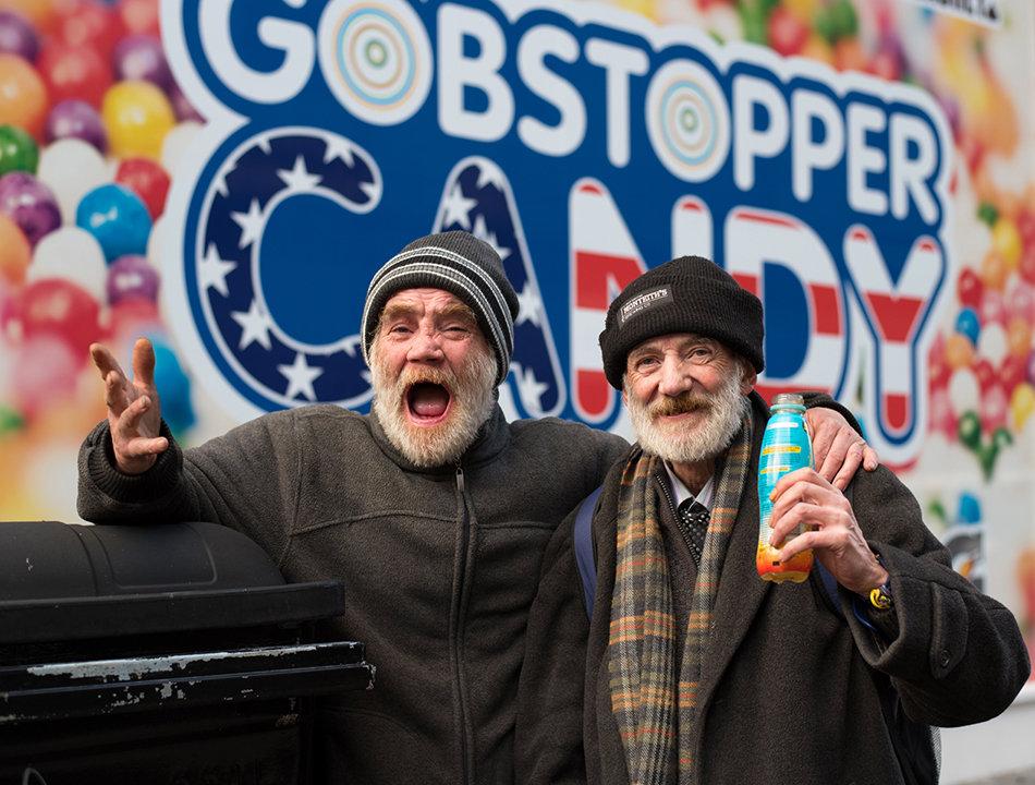 Homeless James and John, Argyle Street.