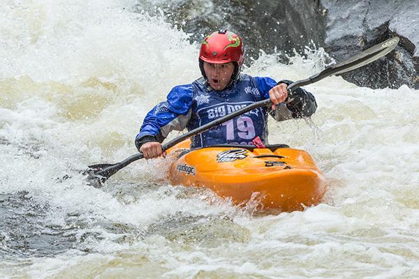 Morriston kayaker