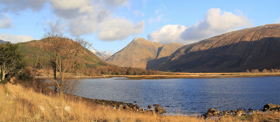 Panoramic Loch Etive