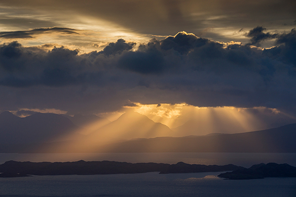 Sunbeams Over Torridon