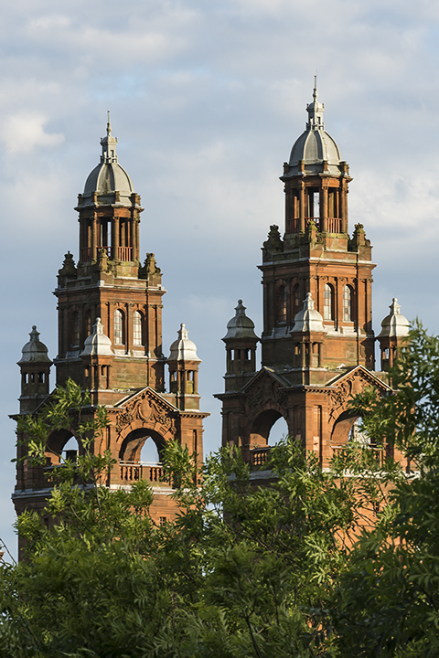 Twin Towers, Kelvingrove