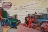 Telegraph Wires, Costa Rica. Sold