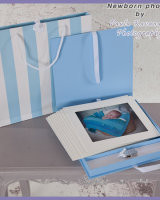 Newborn Photo Album for a Boy