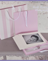 Newborn Photo Album for Girls