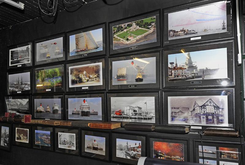 framed display