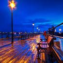Rain Soaked Pier