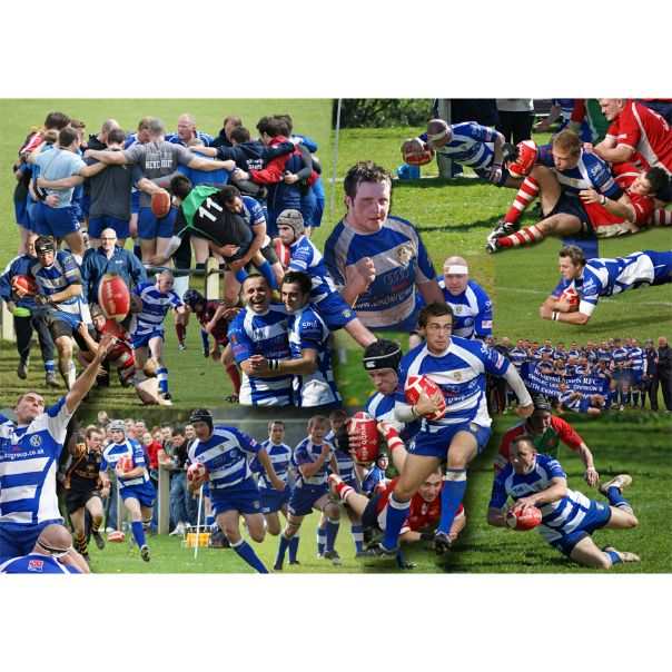 Rugby Photo Collage