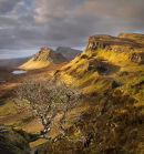 The Trotternish ridge from the Quiraing.