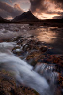 Buachaille Etive Beag from the River Coupall