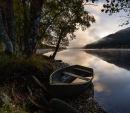 Boat on Loch Voil