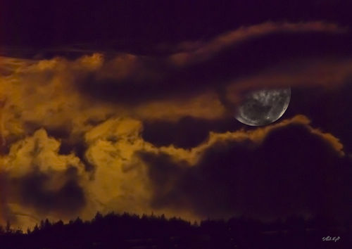 Full moon 0997