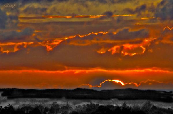 Sunset from Muhunoa East