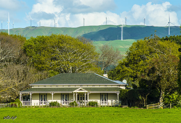 Bungalow on Raukawa Rd viewed from Napier Rd