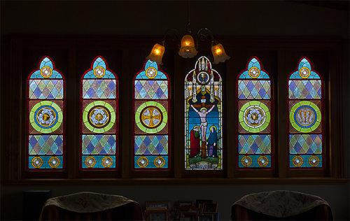 Salisbury Rd villa window