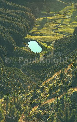 Looking down from Arapaepae Ridge in 2004