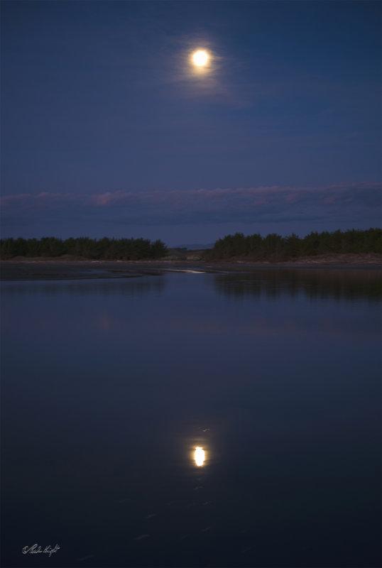 moon&reflection @ Kuku Beach_0657