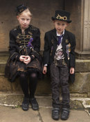 Young Steampunks