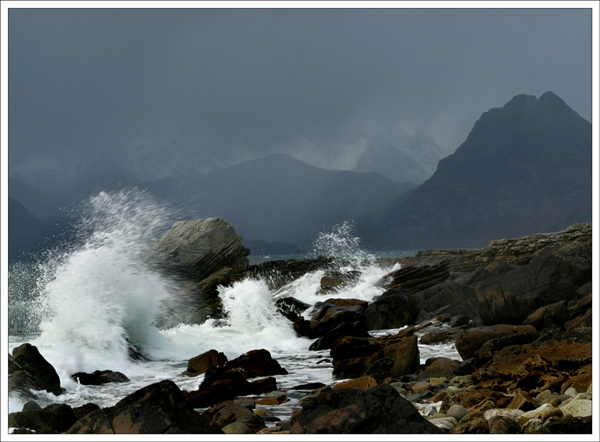 Waves At Elgol