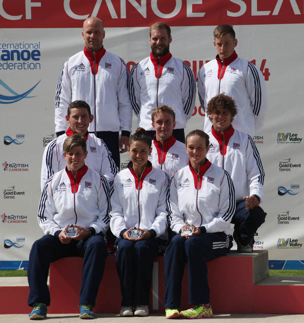 Team GB winners