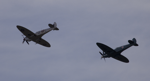 Battle of Britain Flight Spitrfires