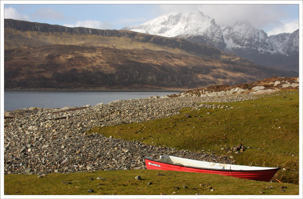 Boat & Mountains Skye