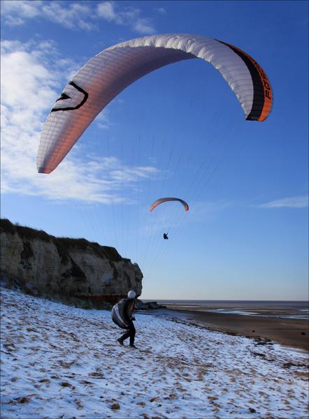 Getting aloft