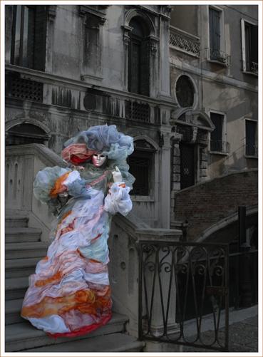 Multi Coloured Figure
