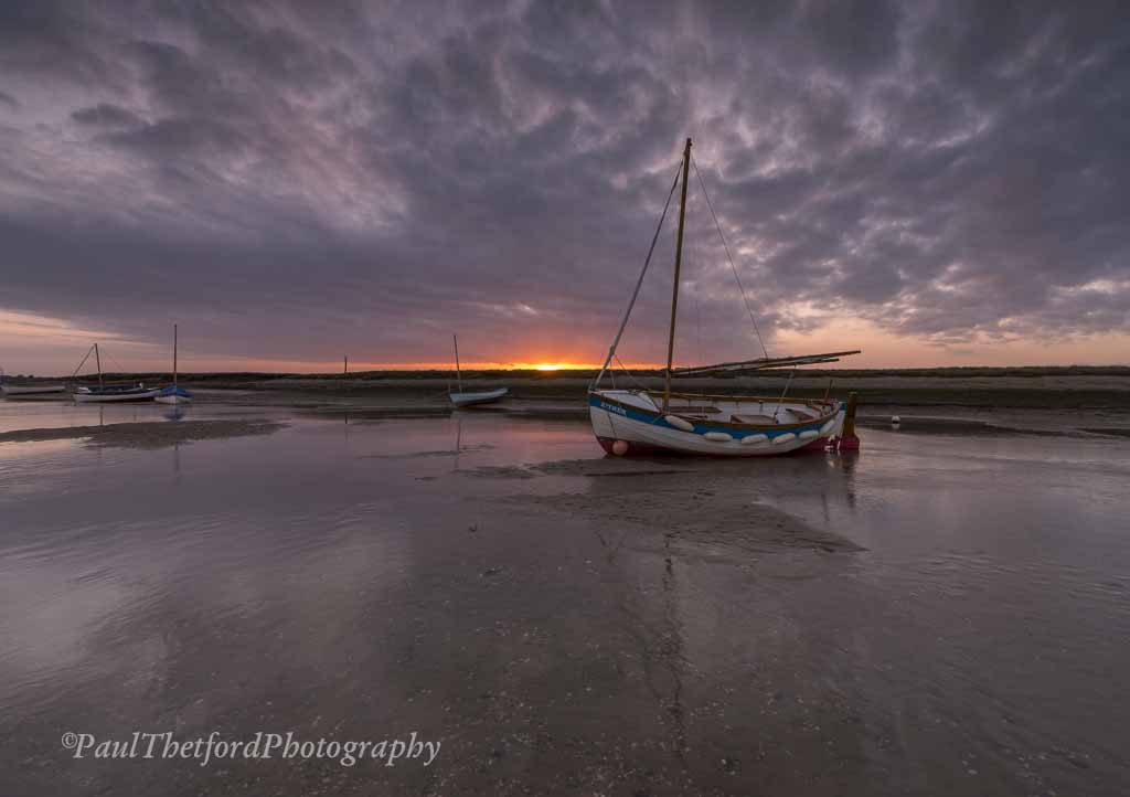 Evening Light, Burnham Overy Staithe