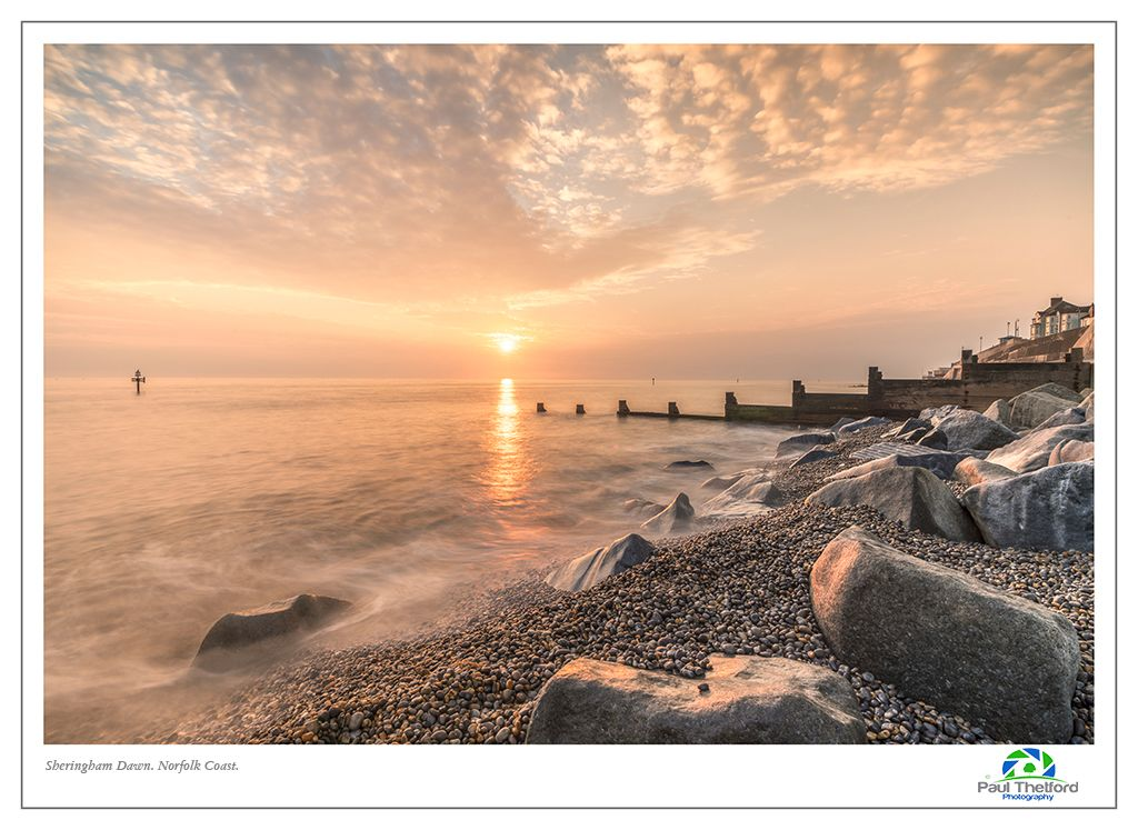 Sheringham, Summer dawn. 4