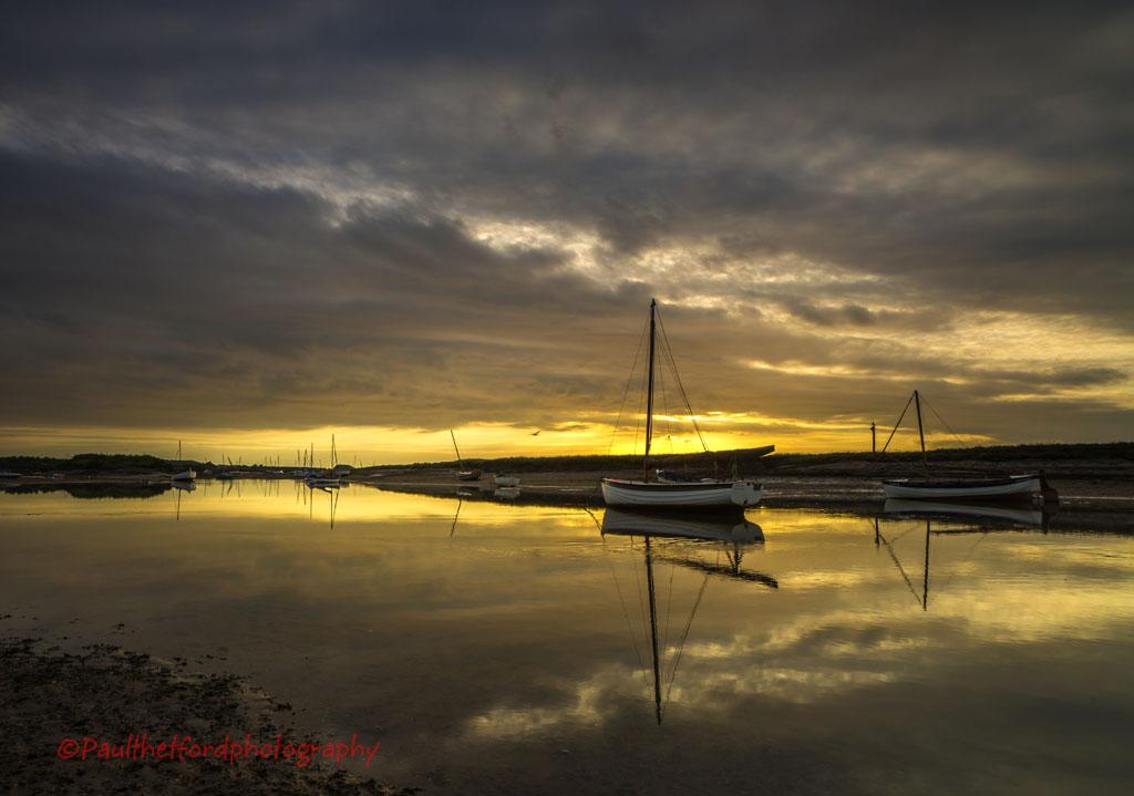 Burnhan Overy Staithe Boats