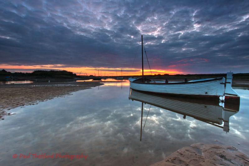 Burnham Overy Staithe Sunset