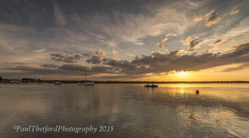 Summers Evening Burnham Overy