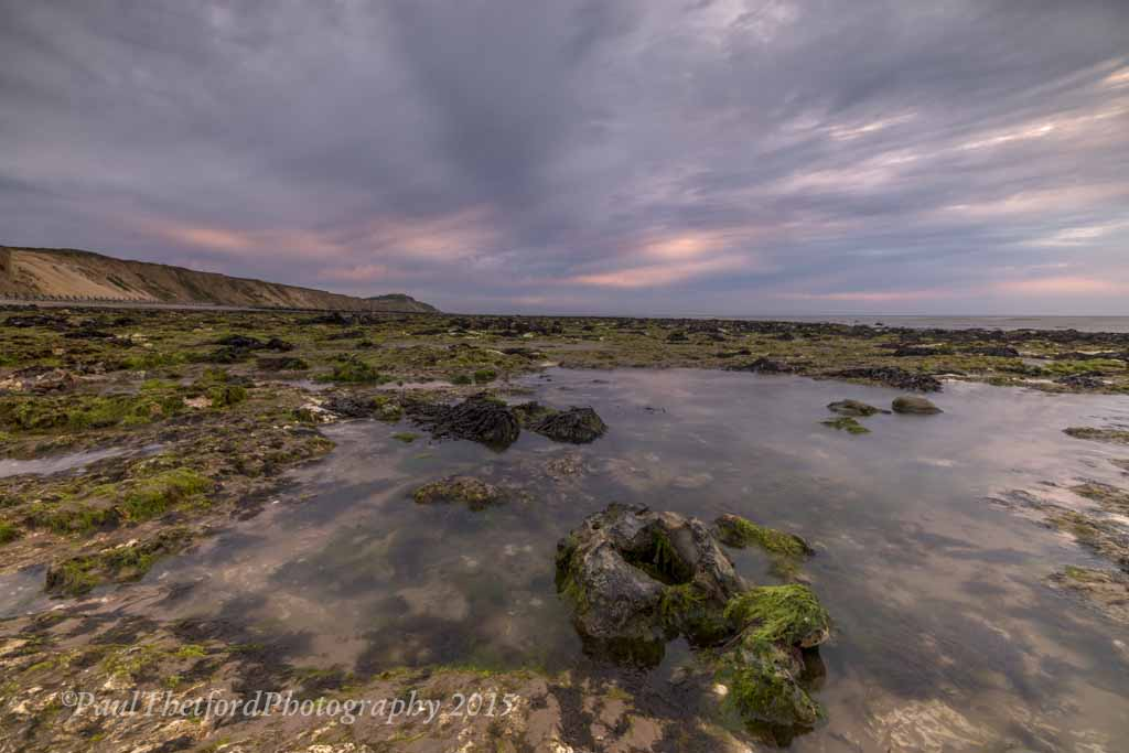 West Runton Beach Rock Pools