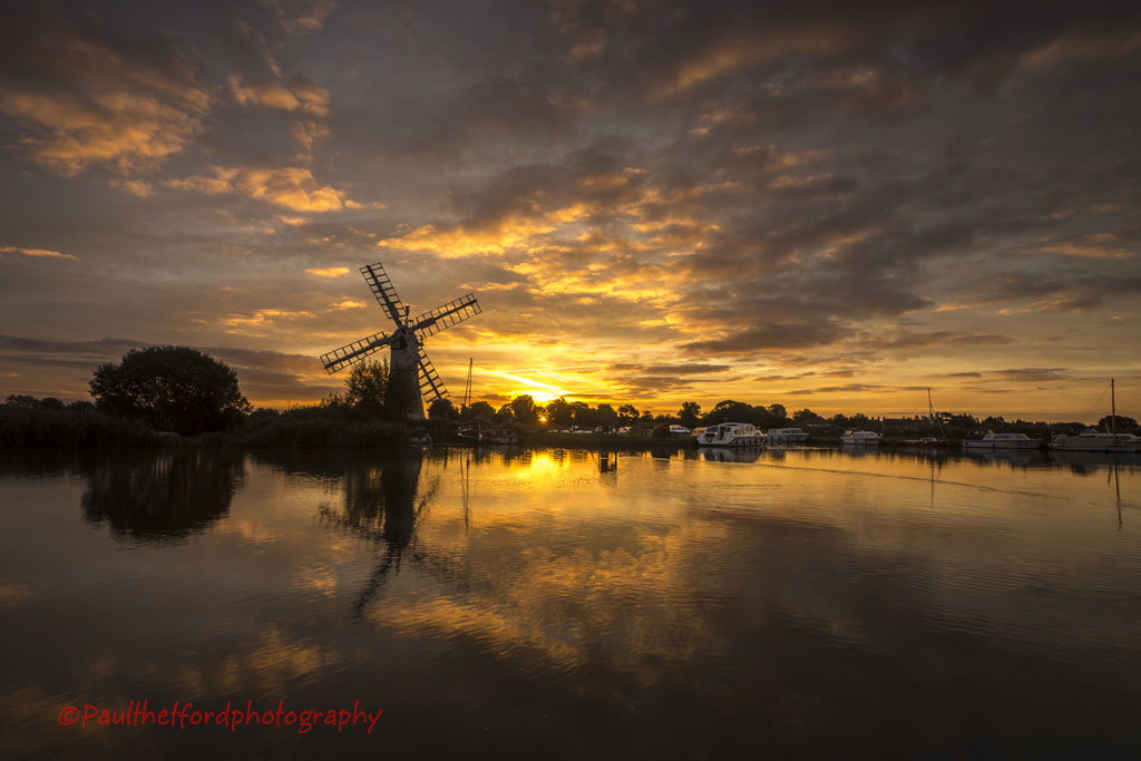 Thurne sunrise 1
