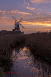 Cley Mill Autumn Skies 4