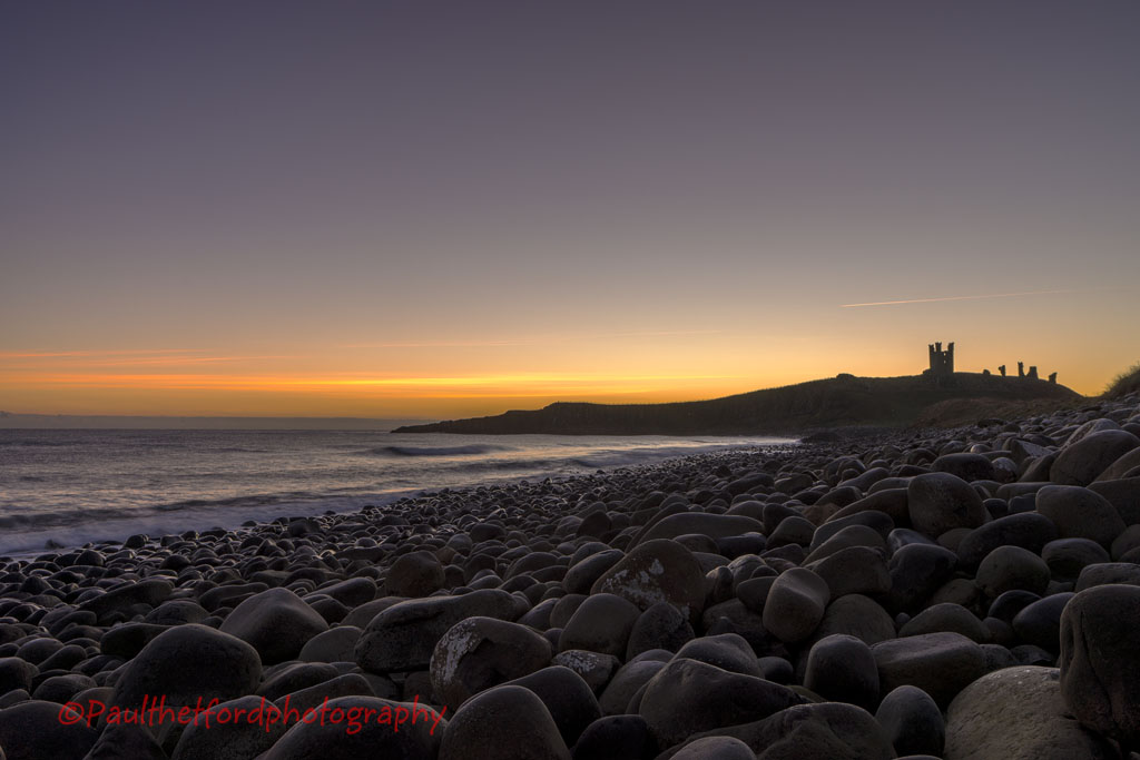 Dawn Dunstanburgh Castle 2