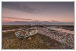 Morston Quay Winters Dawn 2