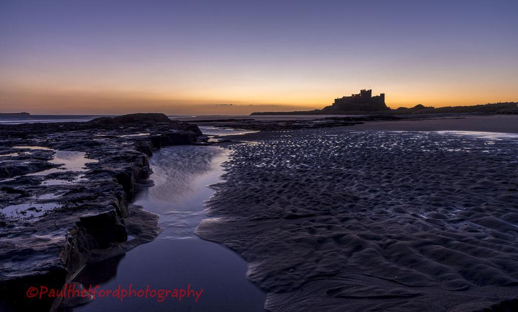 Dawn Bamburgh Castle 5