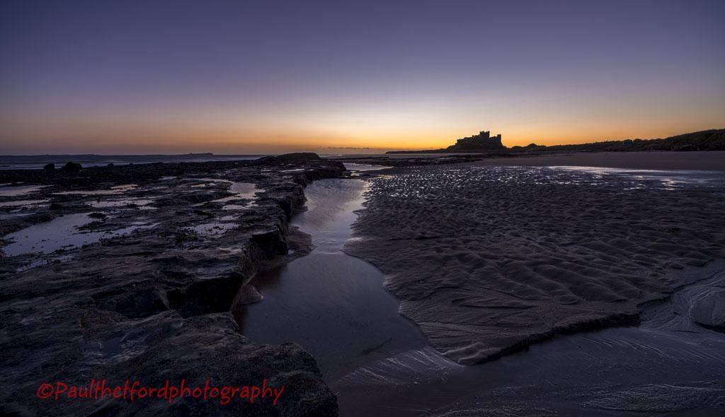 Dawn Bamburgh Castle 6